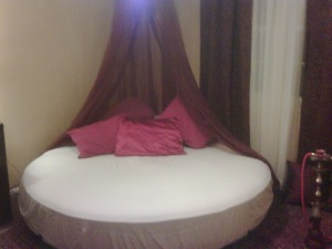 My awesome bed