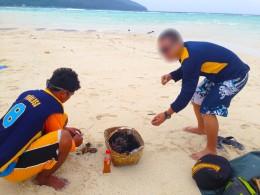 NWA trying some Sea Urchin